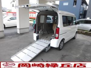 スズキ エブリイワゴン 車いす移動車 電動固定 リヤシート付