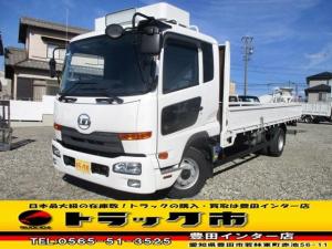 UDトラックス コンドル 平ボディ 積載3.9t ベット付キャブ AAC 矢崎デジタコ
