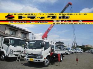 トヨタ ダイナトラック 4段クレーン 積載2トン ラジコン 標準 ロング 新車時架装