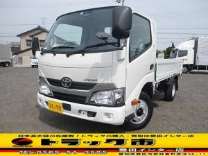 トヨタ ダイナトラック 平ボディ 積載2t 標準10尺 全低床 総重量5t未満 AT