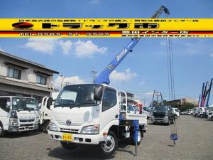 トヨタ トヨエース 3段クレーン ラジコン 積載2800kg 標準