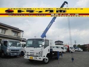 いすゞ エルフトラック 4段クレーン ラジコン リアジャッキ タダノ 積載3t