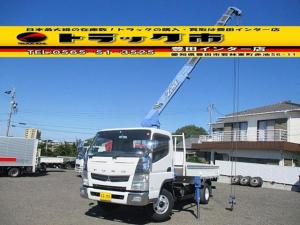 三菱ふそう キャンター ロング 4段クレーン ラジコン ワイドロング 積載2トン タダノ ZE264HR 製造2011年・新車時架装 2.63t吊