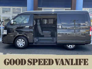 トヨタ ハイエースワゴン GL オリジナルシートアレンジ Scorpio 新車未登録車 シートカバー パワースライドドア デジタルインナーミラー オートハイビーム スマートキー プッシュスタート AC100V