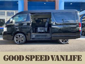トヨタ ハイエースワゴン GL オリジナルシートアレンジ Taurus 新車未登録車 衝突軽減ブレーキ LEDヘッド パノラミックビューモニター パワースライド レーンキープ オートハイビーム AC100V 禁煙車