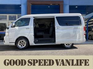 トヨタ ハイエースワゴン GL オリジナルシートアレンジ Scorpio 電動ドア デジタルインナーミラー 衝突軽減ブレーキ レーンキープ コーナーセンサー AC100V スマートキー プッシュスタート LEDヘッド