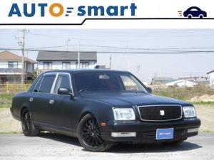 トヨタ センチュリー デュアルEMVマットブラック サスコントローラー 19アルミ