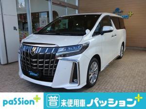 トヨタ アルファード 2.5S タイプゴールド 新車未登録 ツインルーフ ディスプレイオーディオ Bluetooth ラジオ ダブルエアコン オートライト 両側電動スライドドア リアパワーゲート 3列7人乗り