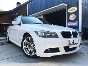 BMW 3シリーズ Mスポーツツーリング 純ナビ LEDリング 禁煙車