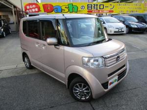 ホンダ N-BOX G 社外ナビTV・DVD・ETC・プッシュスタート・4WD