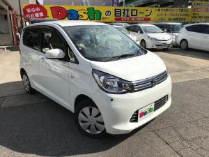 三菱 eKワゴン M 純正オーディオ・ETC・iストップ・コーナーセンサー