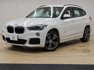 BMW X1 ディーゼル xDrive 18d M Sport 4WD インテリセーフティ 純正ナビ Bカメ アクティブコントロール シートヒーター パワーシート パワーバックドア LEDヘッドライト スマートキー プッシュスタート 純正19インチアルミ
