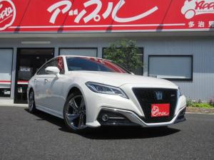 トヨタ クラウン RS 3眼LED セーフティセンス レーダークルーズコントロール