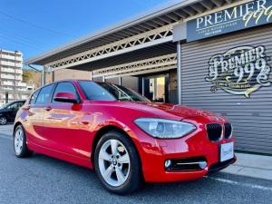BMW 1シリーズ 116i スポーツ 女性1オーナー 純正ナビ iDrive Bカメラ ミラーETC キセノン プッシュスタート キーx2有 ディーラー整備