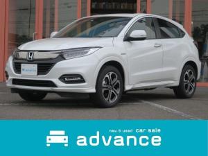 ホンダ ヴェゼル ハイブリッドZ・ホンダセンシング 4WD 新品ナビ 禁煙車