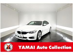 BMW 4シリーズ 420iクーペ Mスポーツ インテリジェントセーフティ 純正ナビ Bカメラ ETC パドルシフト