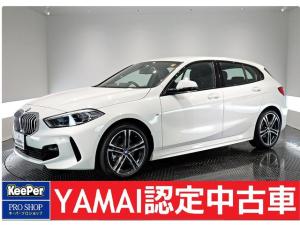 BMW 1シリーズ 118d Mスポーツ エディションジョイ+ ナビゲーションPKG コンフォートPKG ストレージPKG メモリー付きパワーシート インテリジェントセーフティ 新車未使用車 ETC Bカメラ 電動リアゲート