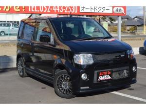 三菱 eKスポーツ ロアコンプリートX キーレス HIDライト 社外14インチアルミホイール フルエアロ ベンチシート