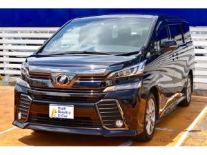 トヨタ ヴェルファイア 2.5Z Aエディション ゴールデンアイズ 1オーナ Bモニター フルセグTV SDナビ スマートキー LED ETC ナビTV パワーバックドア クルコン DVD 両側電動ドア 後席M 横滑り防止装置 3列シート Bluetoothオーディオ