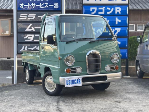 スバル サンバートラック クラシック EL付5MT 4WD エアコン クラシック 色替ツートンカラー