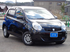 トヨタ パッソ X クツロギ 4WD ワンオーナー車 SDナビ TV ETC スマートキー