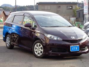 トヨタ ウィッシュ 1.8X HIDセレクション ワンオーナー車 HDDナビ フルセグTV ETC 横滑り防止装置