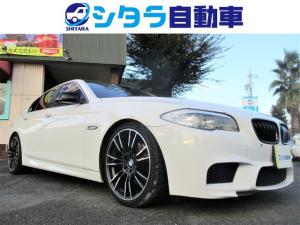 BMW 5シリーズ 528i 黒ルーフ ローダウン 20AW 社外マフラー