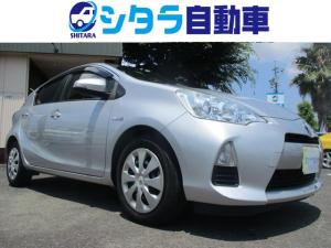トヨタ アクア S カーナビ スマートキー バックカメラ ETC ワンセグ地デジ Bluetooth CD オートライト
