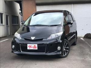 トヨタ エスティマ アエラス プレミアムエディション 4WD 両電スライド TV