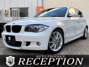 BMW 1シリーズ 116i Mスポーツパッケージ ハーフレザー/社外ナビ/地デジ視聴/ETC/プッシュスタート/Mスポ/DVD再生/1年保証