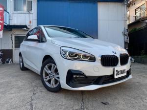 BMW 2シリーズ 218dアクティブツアラー 純正ナビ 純正LEDヘッドライト&フォグランプ バックカメラ