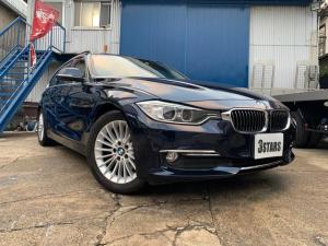 BMW 3シリーズ 320dブルーパフォーマンス ツーリングラグジュアリ ブラウンレザーシート サンルーフ 純正ナビ 社外フルセグTVチューナー付 バックモニター パワーバックドア