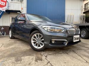 BMW 1シリーズ 118d スタイル 純正メーカーOPナビ/純正LEDヘッドライト/ハーフレザーシート/プッシュスタート/バックカメラ/ミラー型ETC