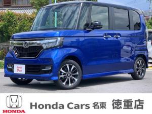 ホンダ N-BOXカスタム G・Lホンダセンシング 届出済み未使用車 左側電動ドア