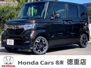 ホンダ N-BOXカスタム G・Lターボホンダセンシング 届出済み未使用車 両側電動スライドドア LEDヘッドライト シートヒーター ETC スマートキー 純正15インチアルミホイール