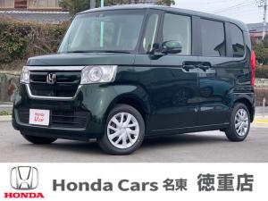 ホンダ N-BOX G・Lホンダセンシング 届出済み未使用車 左側電動スライドドア ナビ装着用パッケージ スマートキー ETC LEDヘッドライト シートヒーター