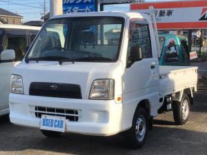スバル サンバートラック TC 4WD 5速マニュアル 三方開