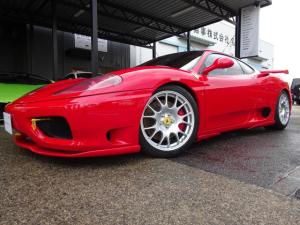 フェラーリ 360 モデナF1 D車 クラッチ交換済83% タイベル交換済