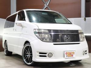 日産 エルグランド ハイウェイスター 新品20inアルミ/新品タイヤ/車高調