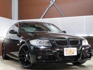 BMW 3シリーズ 320i Mスポーツパッケージ 新品19アルミ/新品タイヤ/HDDナビ地デジ 走行中視聴可/DVD再生 走行中視聴可/CD再生/ミュージックサーバー/AUX端子 スマホ接続可能 /前席パワーシート/運転席シートメモリー/ETC