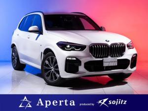 BMW X5 xDrive 35d Mスポーツ 陸送費無料 アダプティブMサスペンション Mスポーツブレーキ 純正20インチAW アダプティブLEDヘッドライト ヘッドアップディスプレイ ソフトクローズドア 温冷ドリンクホルダー 全席シートヒーター