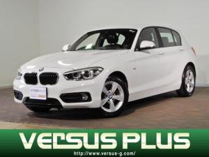 BMW 1シリーズ 118d スポーツ 純正HDDナビ CD&DVD再生 USBオーディオ バックカメラ ETC車載器 LEDオートライト インテリジェントセーフティ クルーズコントロール 電格ミラー プッシュスタート