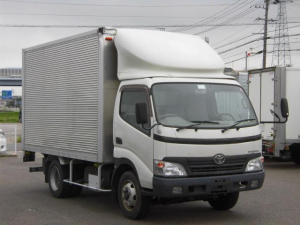 トヨタ トヨエース ハイキャブ・ワイド・アルミバン・3トン積オートターン付