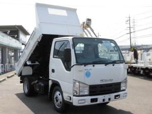 いすゞ エルフトラック 全低床3トン積強化ダンプ・コボレーン付 車両総重量5,985kg・キーレス・ETC付・坂道発進補助装置・ASR