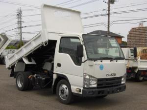 いすゞ エルフトラック 全低床2トン積強化ダンプ コボレーン付・3方開・ETC