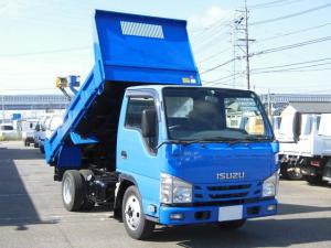 いすゞ エルフトラック 全低床2トン強化ダンプ Rアオリロックピン・坂道発進補助装置・電格ミラー・集中ドアロック・ETC付・フォグランプ
