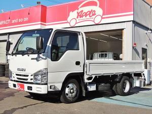いすゞ エルフトラック フルフラットロー 平ボディ 2t 3方開 5F 荷台高さ770mm
