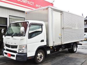 三菱ふそう キャンター  パネルバン 4t ラッシングレール2段 サイドドア付き 車両総重量7565kg