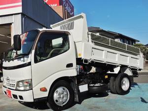 日野 デュトロ 全低床強化ダンプ 3.0t 極東開発ダンプ DD02-31 コボレーンシート新品 車両総重量6015kg
