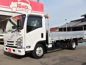 いすゞ エルフトラック  ロングワイド 平ボディアルミブロック キーレス ETC 内フック4対 左電動格納ミラー バックビューカメラ 車両総重量4865kg
